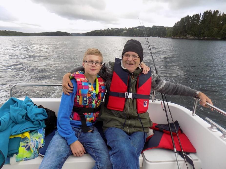 Morfar og Andreas