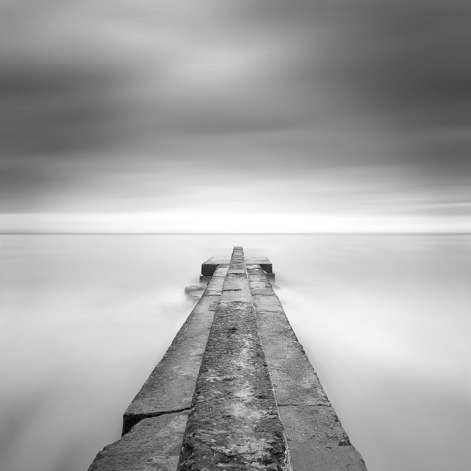 Pier in blur water by gannusya - Image Of The Month Photo Contest Vol 29