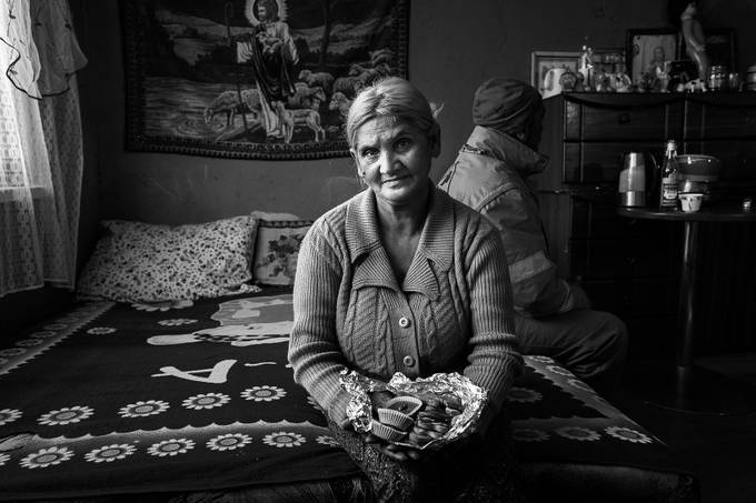 Christmas at gypsy family by martinkrystynek - Cultures of the World Photo Contest