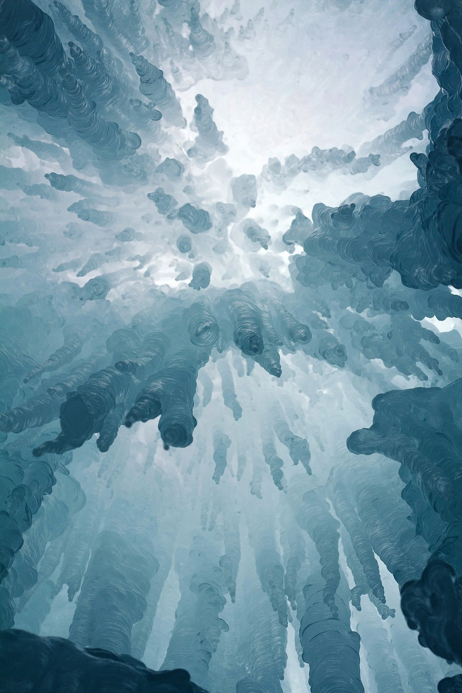 Ice Ceiling  by LelaKieler - Epic Abstractions Photo Contest