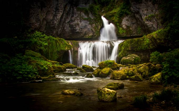Cascade in the Jura by joostlagerweij - Image Of The Month Photo Contest Vol 29
