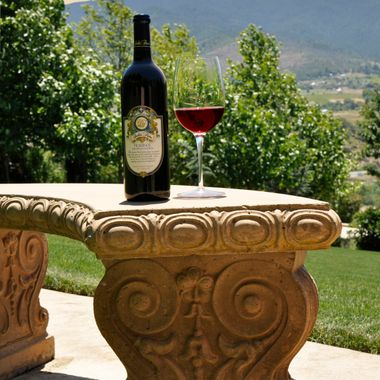 Belle Fiore Estates is a lovely place to spend the day and offers a variety of wines for tasting.  They are located in Ashland, Oregon..