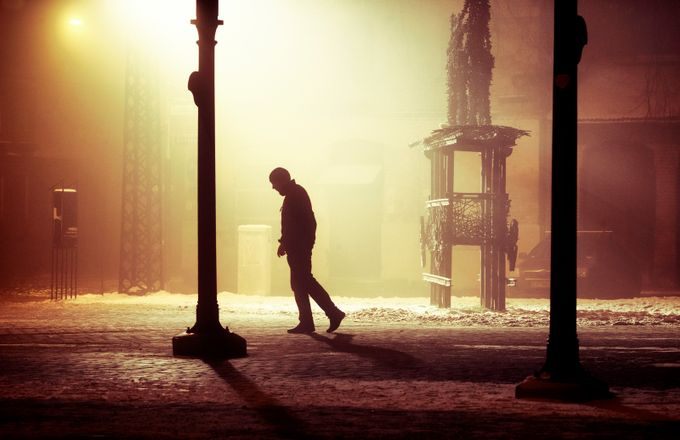 Stranger in the night by jevgenijscolokov - Fog And City Photo Contest