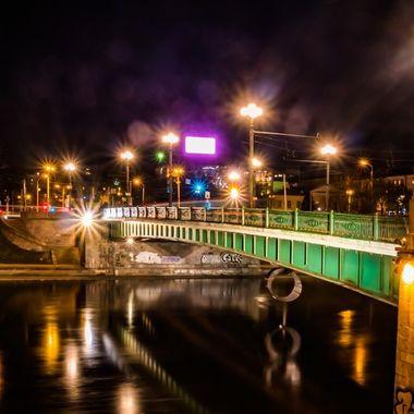 The original 16th-century bridge was the oldest bridge in Vilnius.