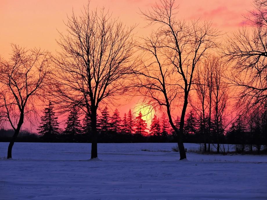 Cyrstal Clear Sunset