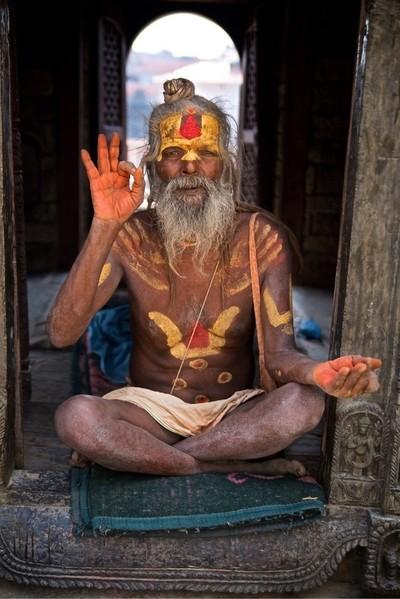 Yogi in Kathmandu