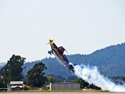 A Steep Red Bull Take Off