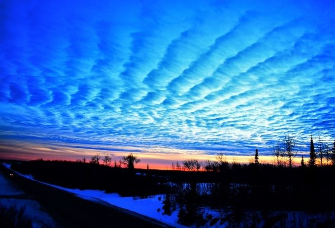 1/9/18  Taken on TR 332 About 1 mile from home at dusk Nikon D3400 18-55 lens vivid