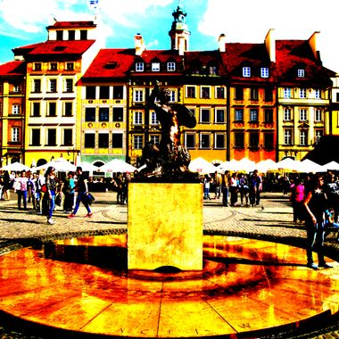 Architecture and life of Warsaw - city in Poland - yourglitter (352)