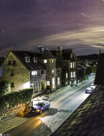 Stars over Oak Street