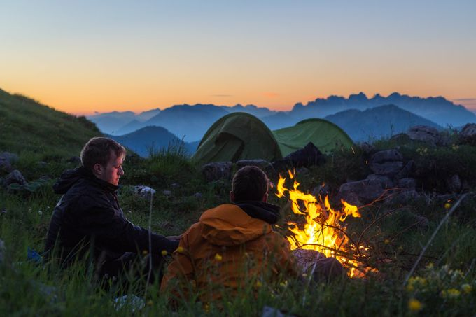 Alpinefire by sebi_a - Outdoor Camping Photo Contest