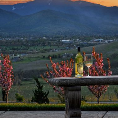 Belle Fiore Muscat at Sunset, Ashland Oregon