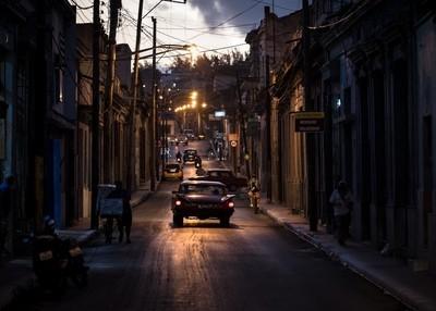 Nights streets of Matanzas
