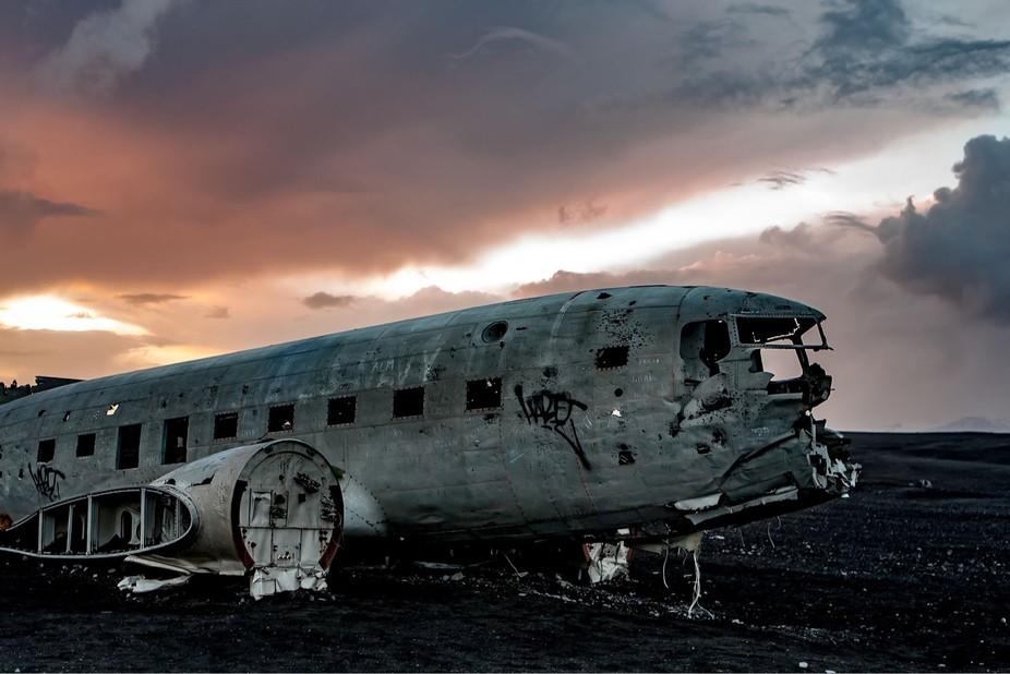 Vik, Iceland Plane Wreck