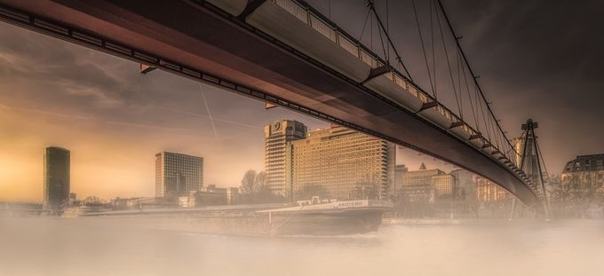 Holbeinsteg by olesteffensen - Fog And City Photo Contest