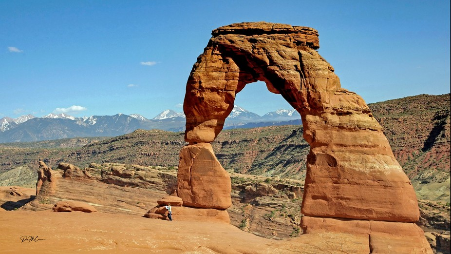 Delicate Arch: Arches National Park, Utah