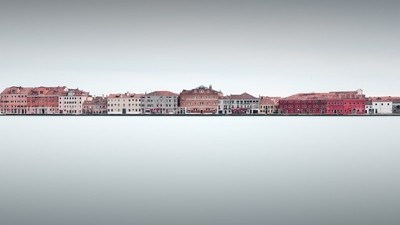 view of Giudecca against clear sky