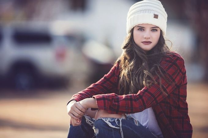 Beautiful Teen by CourtneyBlissett - Hats Photo Contest