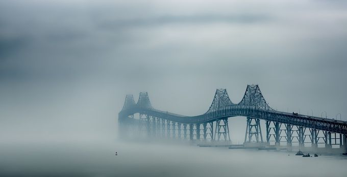 San Francisco Bay fog by DJLee - Fog And City Photo Contest