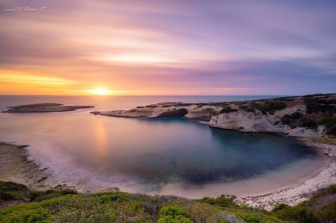 S'Archittu Sunset  by Luka180 - Pastel Colors Photo Contest