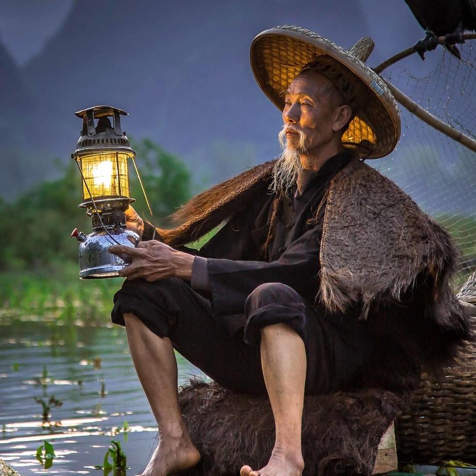 Li River Fisherman by davidjlong - Male Portraits Photo Contest