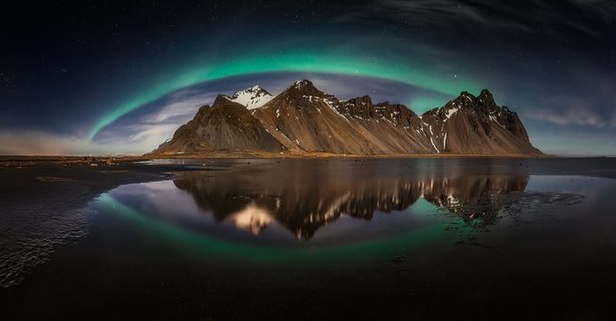 """THE GREAT GREEN EYE"" by Pixelecta - Iceland The Beautiful Photo Contest"