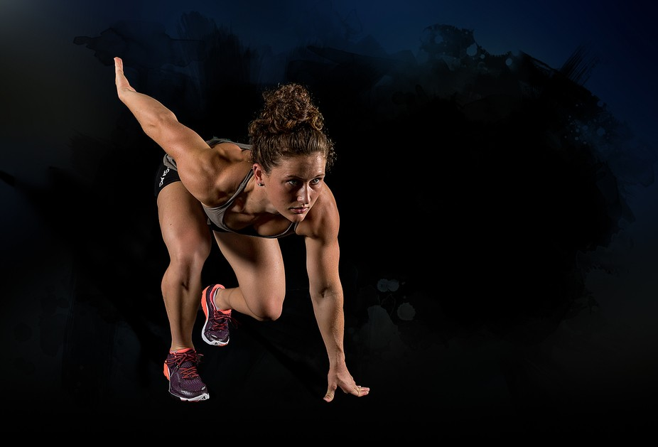 I took a series of photographs for Tia as a promotion prior to her Cross Fit Title win.