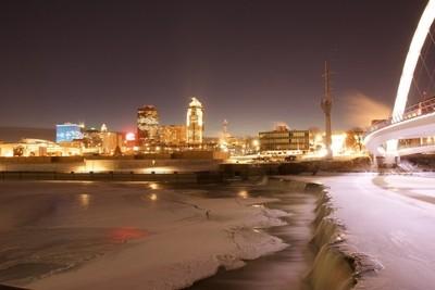 cold Des Moines