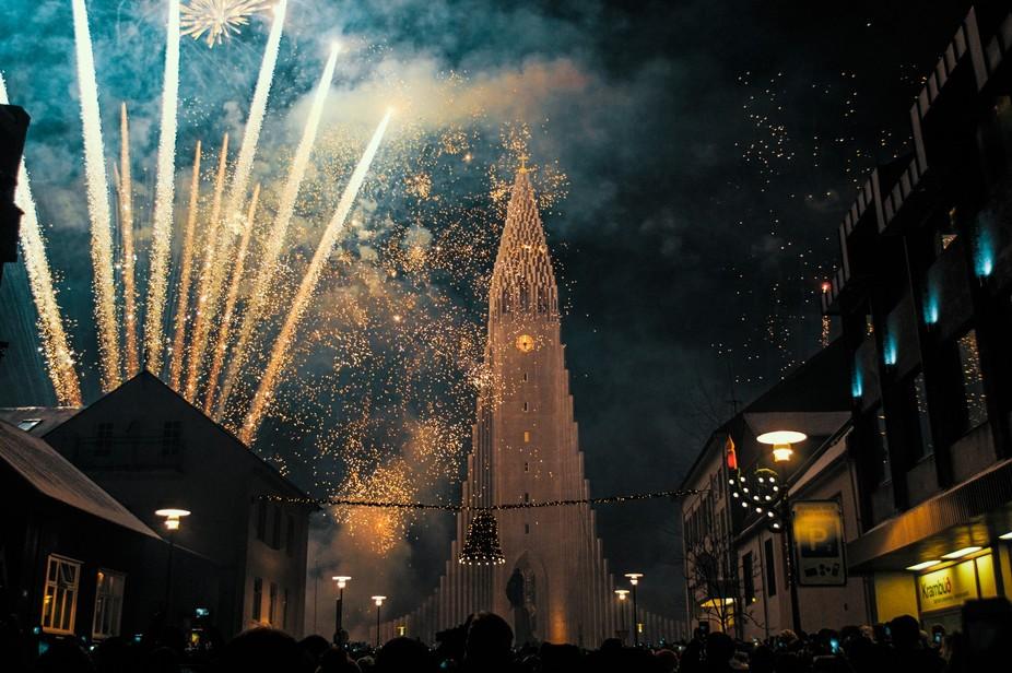 Spending New Years in Reykjavík.