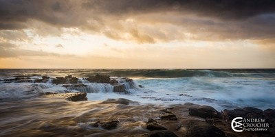 Andrew Croucher Photography - Garie elements sunrise