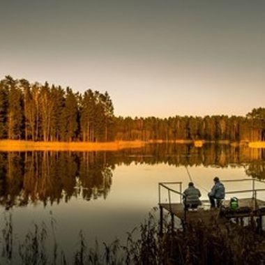 Just before sunset over Nepreksta