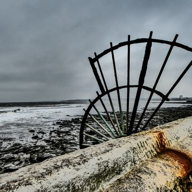 Looking back towards Whitley Bay