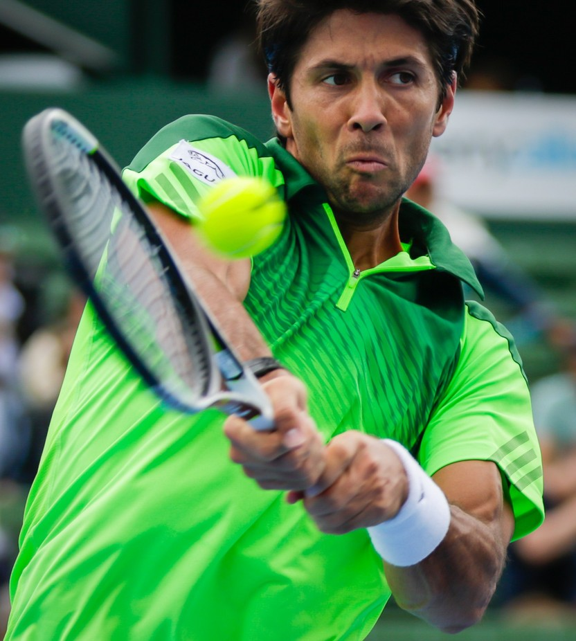 Verdasco @ the Kooyong Classic