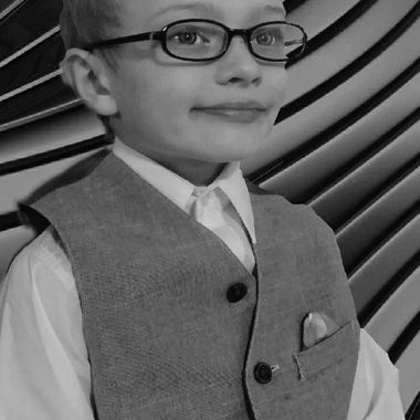 Boy's First Glasses