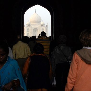 Taj Mahal, Agra, India!
