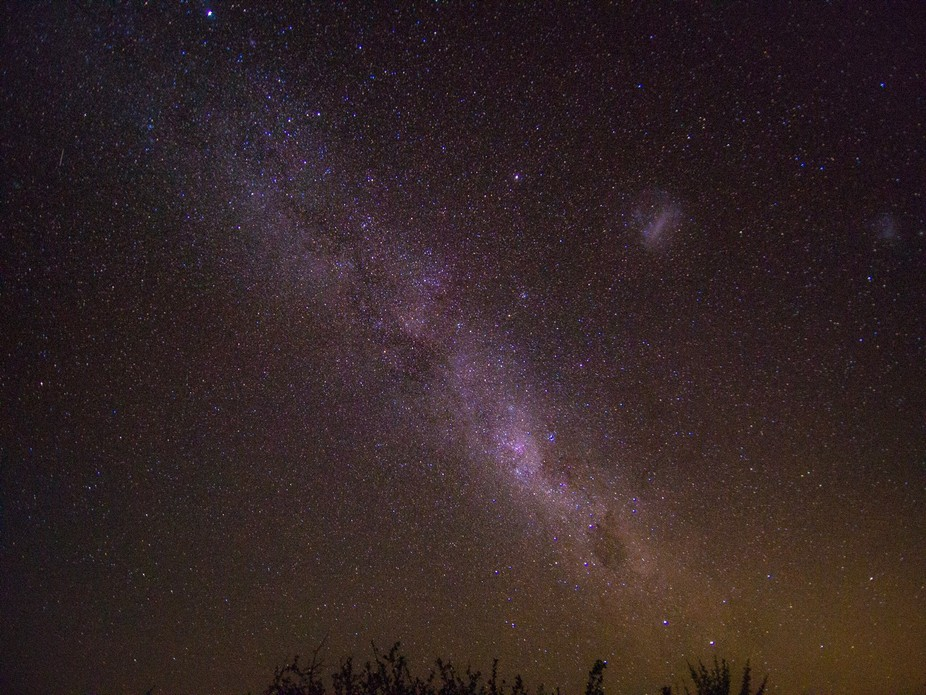 Milky way in South Africa