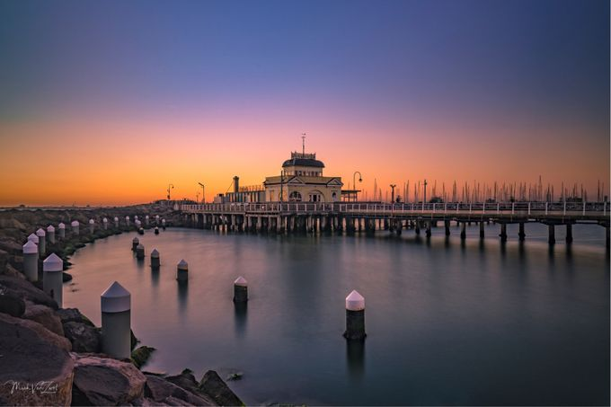 St Kilda pier Vic Aust by mickvanzwol - Covers Photo Contest Vol 45