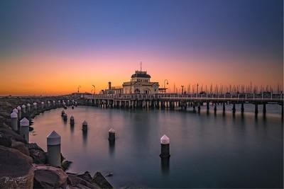 St Kilda pier Vic Aust