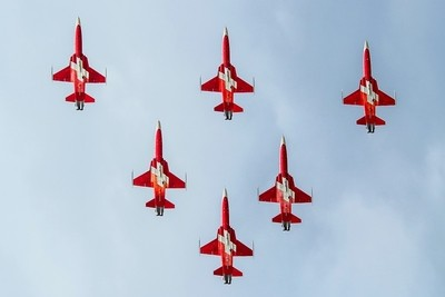 Swiss Air Force F-5E Tiger - Patrouille Suisse display team