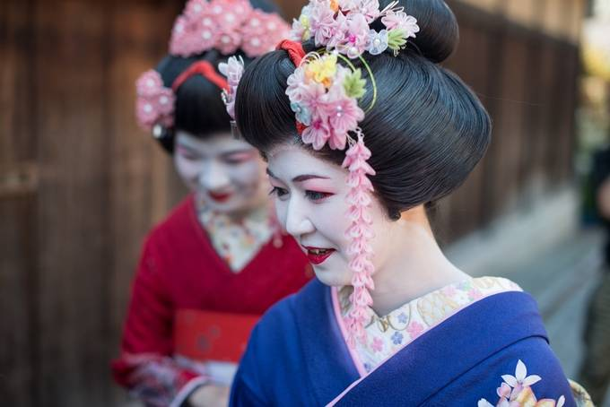 Geishas by dragosioneanu - The Magic Of Japan Photo Contest