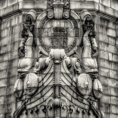 Detail of the Longfellow Bridge, Boston