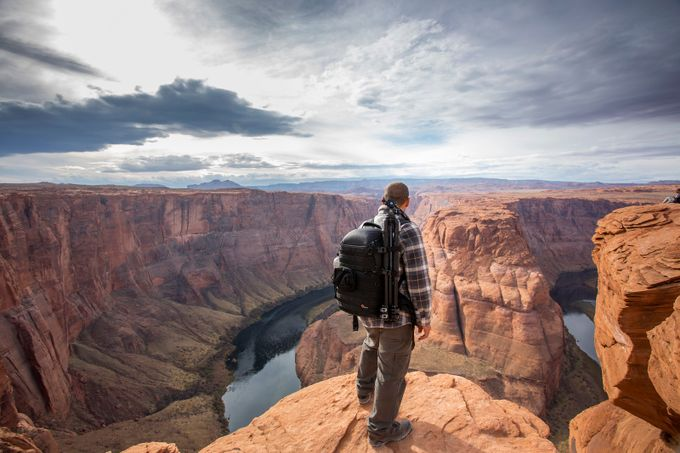 Alone at Horseshoe Bend by Dangulol - Spectacular Cliffs Photo Contest