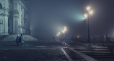 nebbia a Venezia