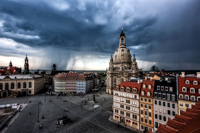A Storm is Coming by frankseltmann - Rooftops Photo Contest 2018