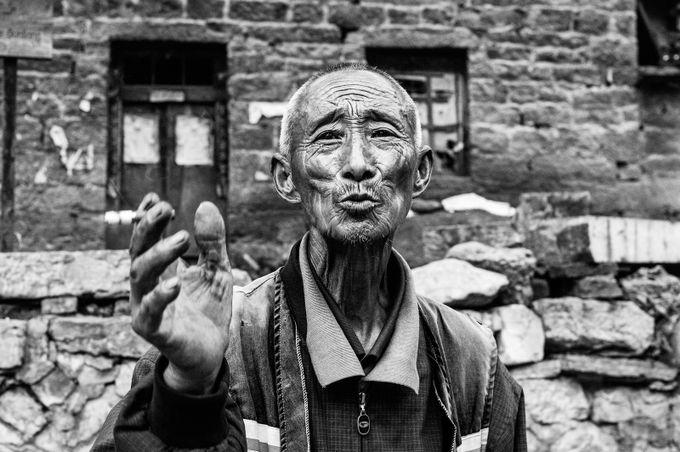 Men of Guoliangcun by jojofuchsch - Male Portraits Photo Contest