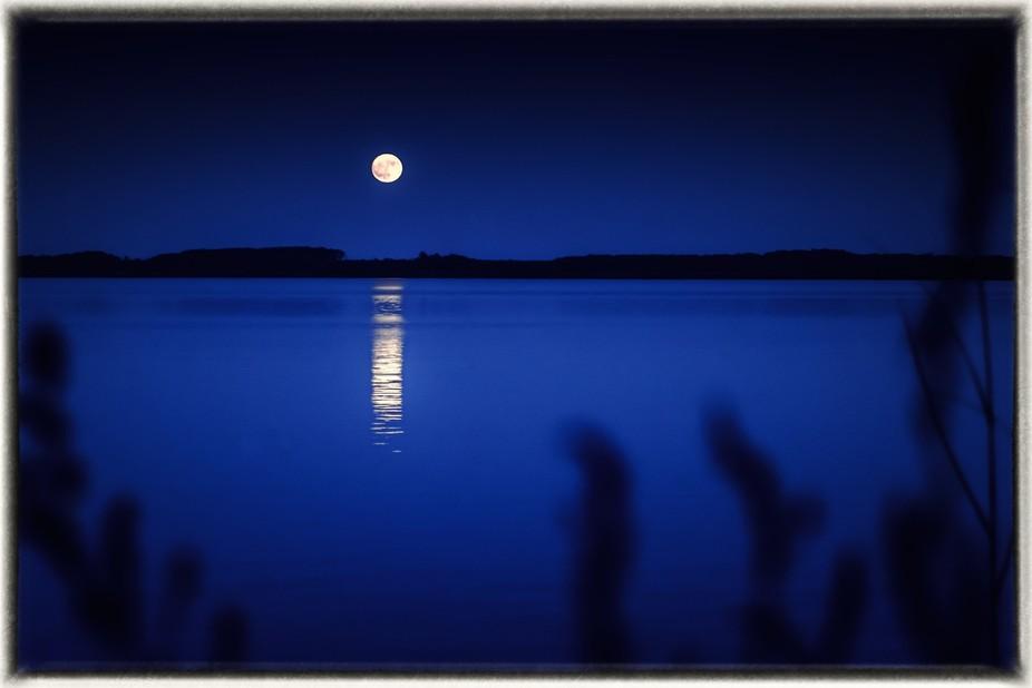 Moonrise over Knotts Island