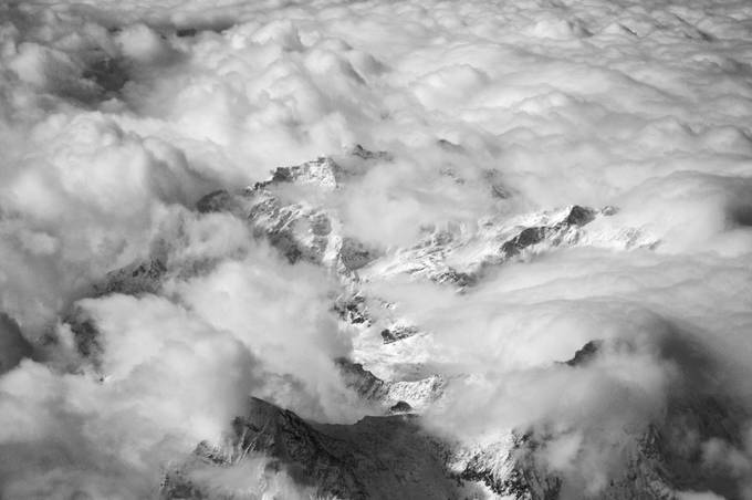 The Alps, photo shot from a transall C160