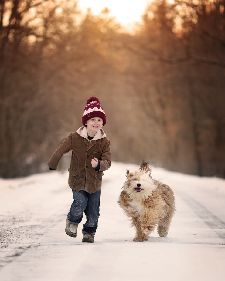 Besties by AnnieWhitehead - People And Animals Photo Contest