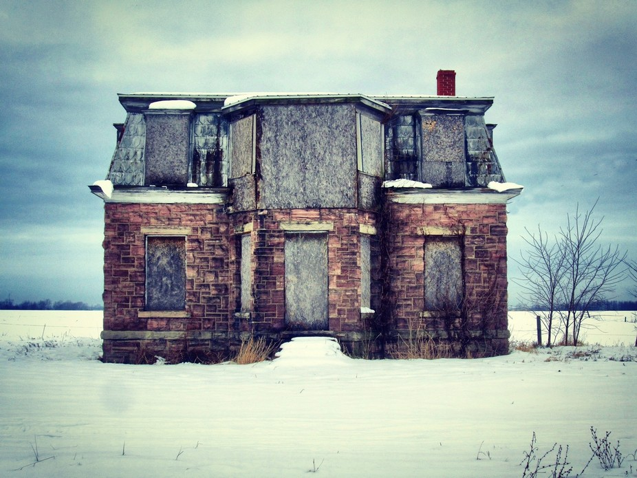 Abandoned house in upstate new york.