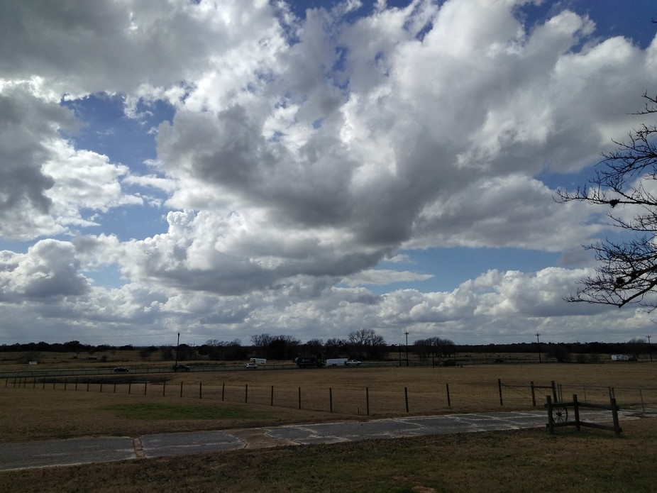 Such amazing clouds in texas